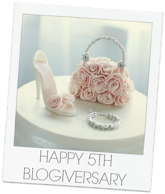 HIGH FIVE! CELEBRATING OUR 5TH BLOGIVERSARY