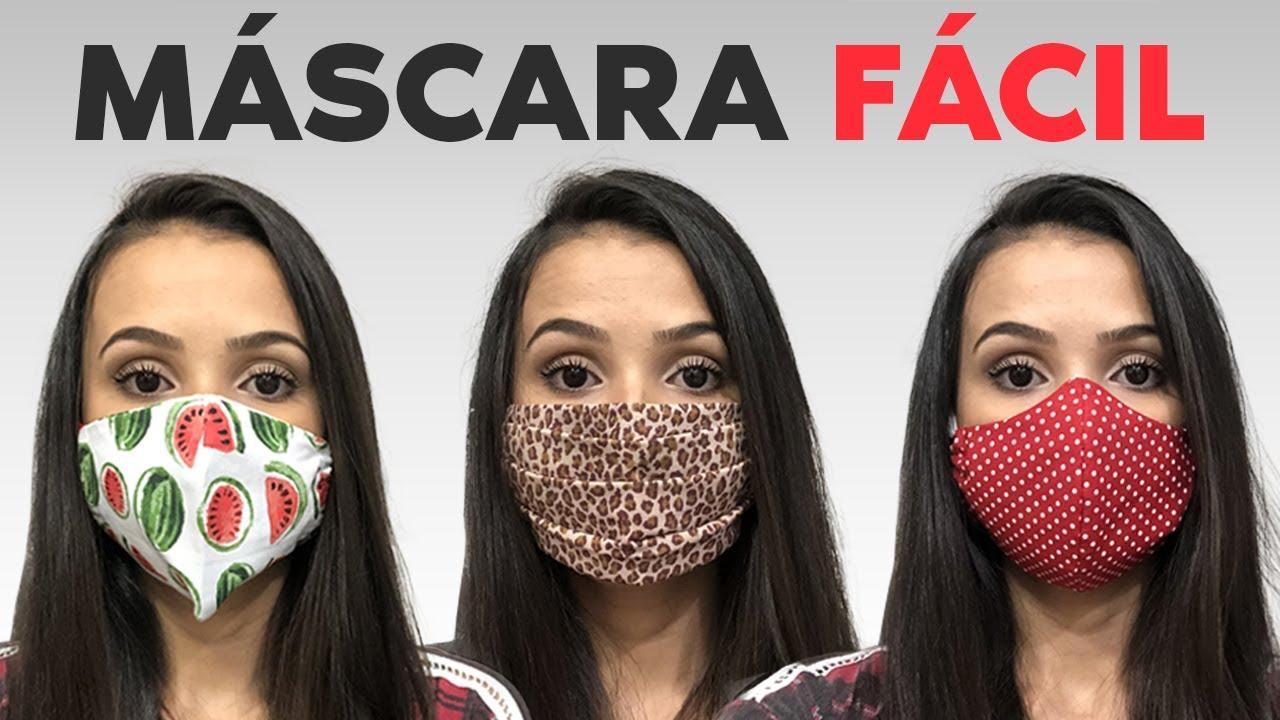 Como Fazer Máscara
