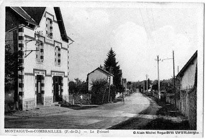 CPA Montaigut en Combraille, Puy-de-Dôme.
