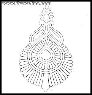 banarasi saree butta designs 2020/banarasi saree butta khaka designs images/silk saree butta designs images