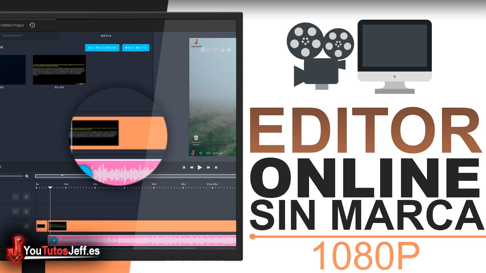 Editor de Vídeo Online Sin Marca de Agua