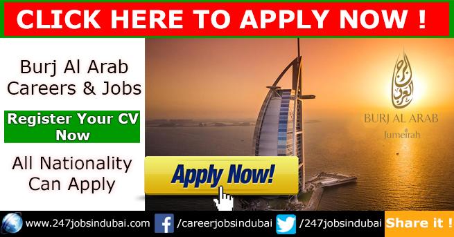 Staff Recruitment and Careers at Burj Al Arab Jobs