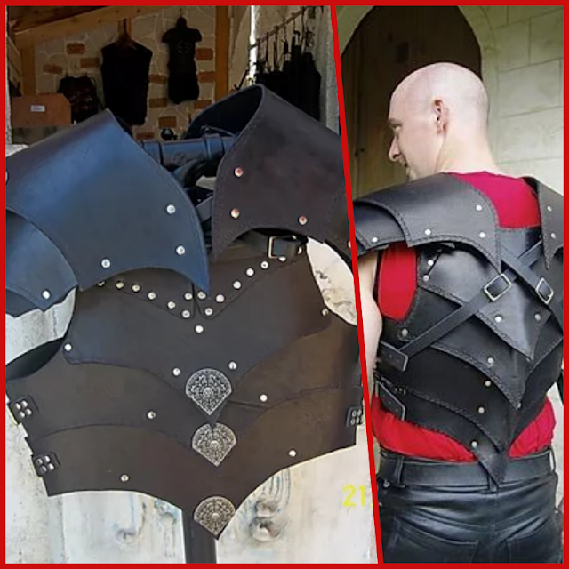 Vendor of Renaissance festivals offering handcrafted ready-made and custom leather items