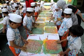 Finger Painting Untuk Anak Usia Dini