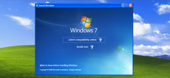Step by Step process to Upgrade Windows XP to Windows 7 Easily