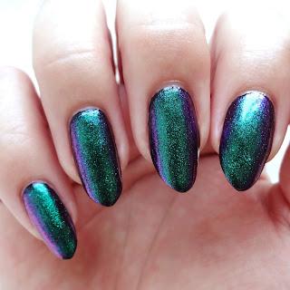 Green Multichrome Glitter Polish