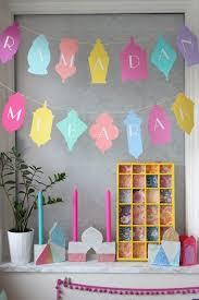 Dekorasi Ramadhan Gantungan Kertas Colorful