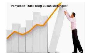 8 Penyebab Trafik Blog Susah Meningkat Serta Solusi Ampuh Menaikan Visitor Blog