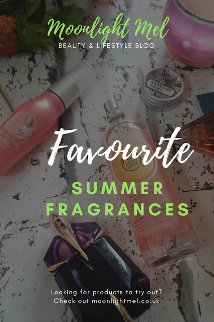 favourite summer fragrances