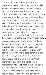 Terjemahan doa nisfu sya'ban