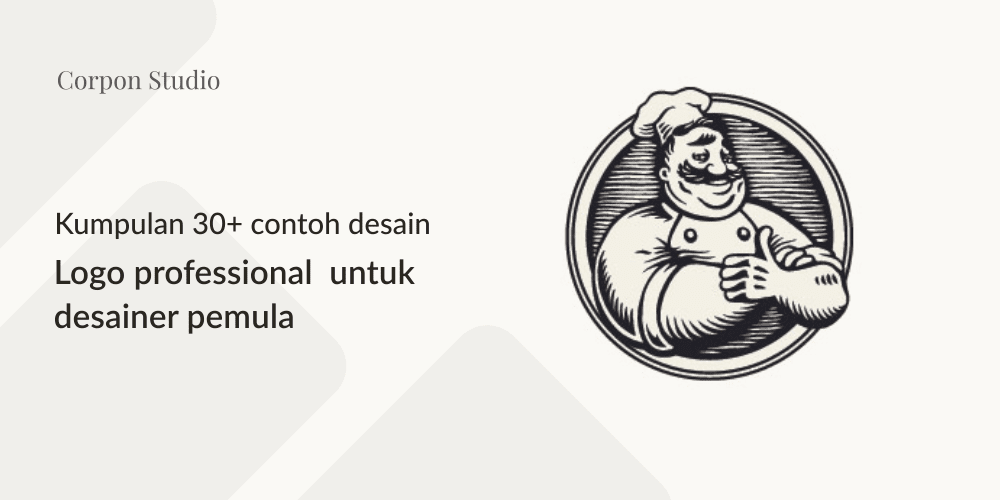 Contoh Professional Logo Design Untuk Desainer Pemula