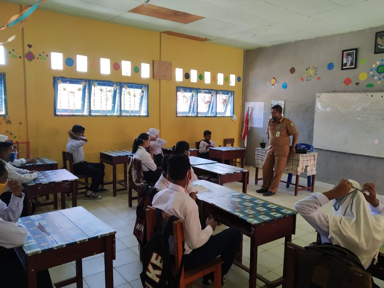 Dinas Pendidikan Kabupaten Lingga Akan Terapkan Kegiatan Belajar Tatap Muka