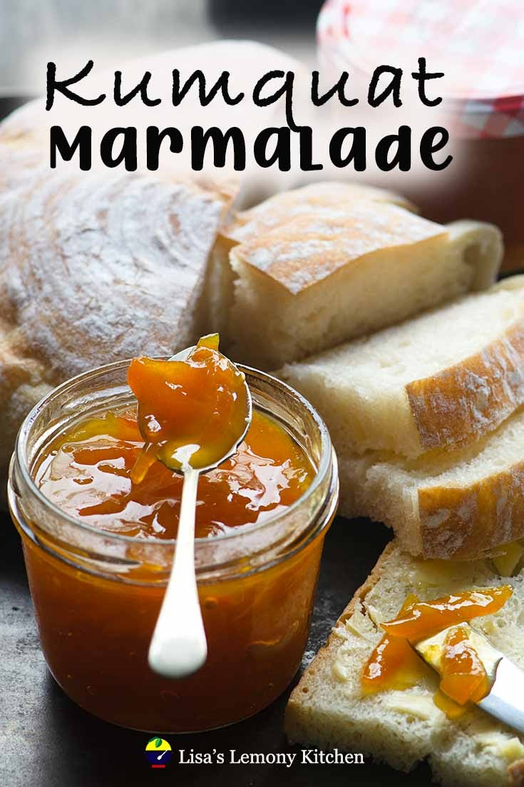 Kumquat makes an excellent marmalade with its sweet flavour skin/ rind and sweet but tart refreshing flavours.