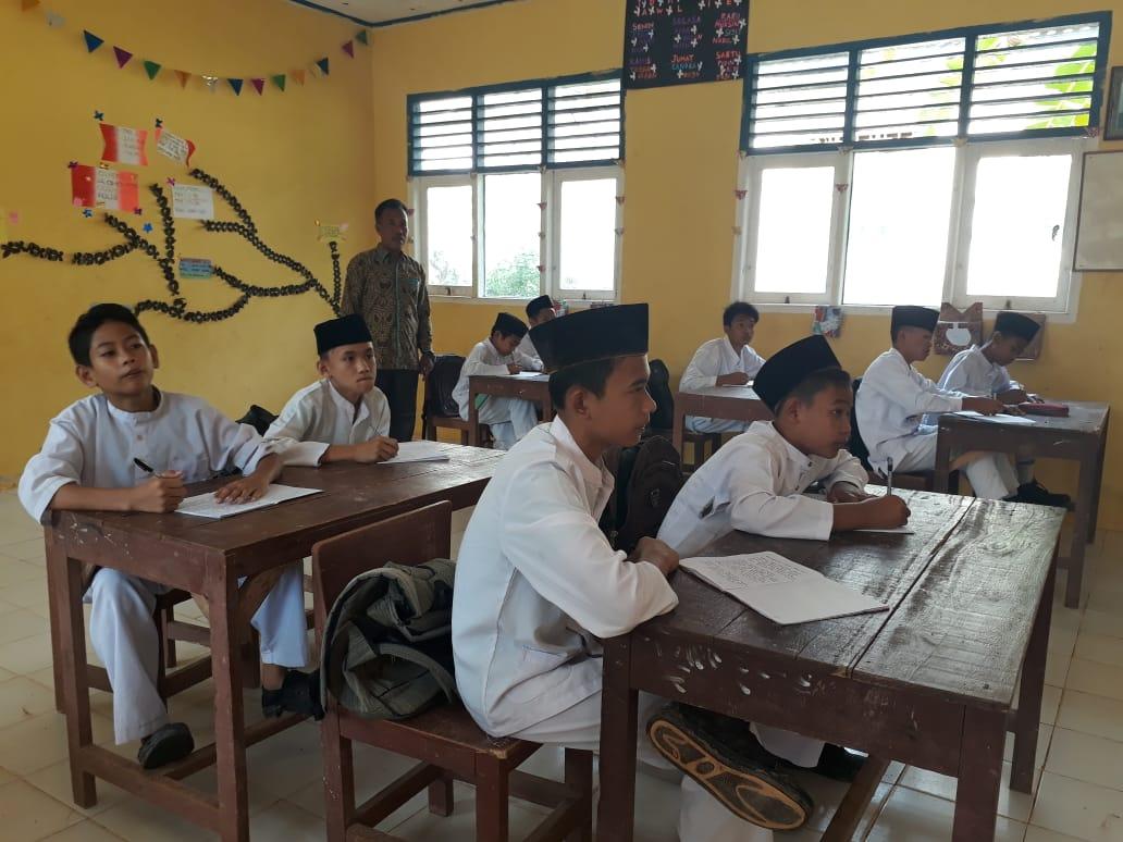 visitasi akreditasi MTs Nurul Huda Dayo Tandun