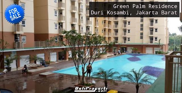 dijual apartemen green palm residence duri kosambi jakarta barat