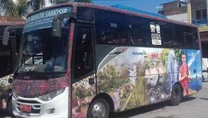 Wow, Bus Wisata Samosir Makin Diminati Wisatawan
