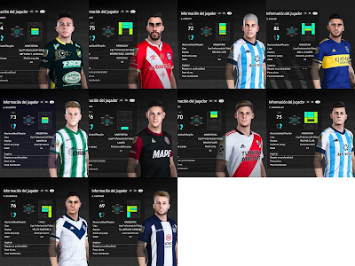 PES 2021 Facepack 1 Liga Argentina by AXL