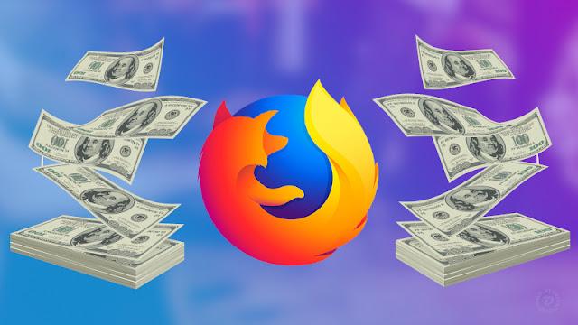 Firefox e seu modelo de pagamento