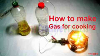 How to make gas for cooking