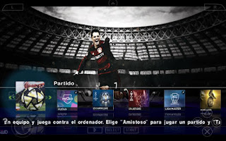 PES 2016 Fuxionx ISO PSP Android