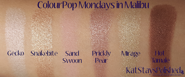 ColourPop Mondays in Malibu | Kat Stays Polished