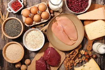 how to eliminate belly fat eat protein.