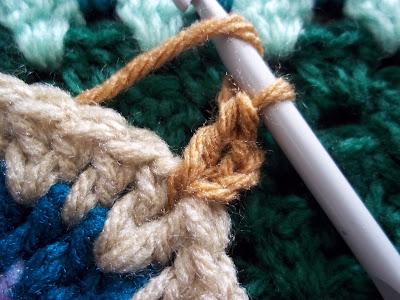 Hexagon Crochet Motif