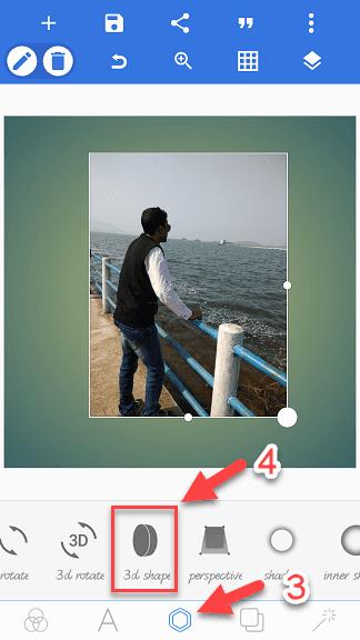 3d photo kaise banaye