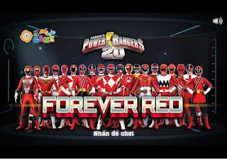 Game huyền thoại siêu nhân đỏ hay