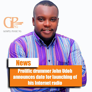 Prolific drummer, producer and host of the annual Eket Drum Festival, John Udoh announces the official date for launching of his Internet radio Radio Basar