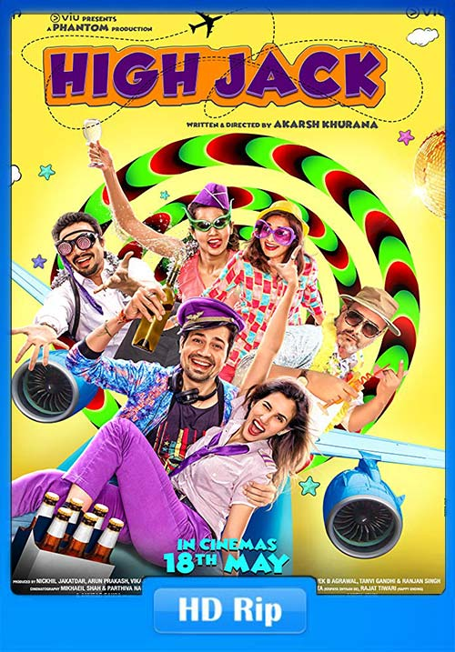 High Jack 2018 Hindi 720p WEB-HD x264 | 480p 300MB | 100MB HEVC