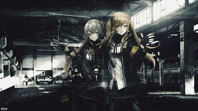 UMP Sister - Girls Frontline Wallpaper