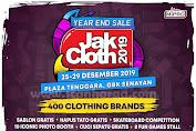 Jakcloth Year End Sale Jakarta GBK Senayan Periode 25 - 29 Desember 2019