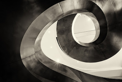 Spiral Staircase London Art Fineart Photo Print