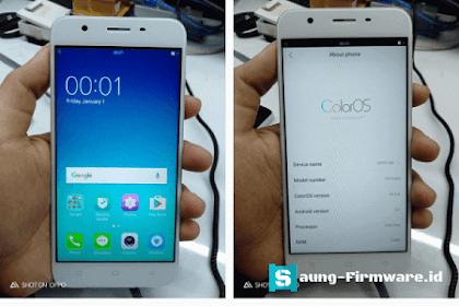 Mengatasi Blank LCD Oppo A39 (Neo 9) Setelah Flash