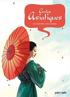 Couverture de contes asiatiques en BD chez Petit à Petit