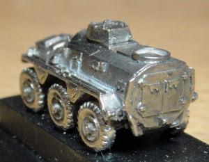3/4 rear view