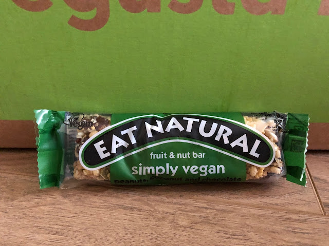 Eat Natural Simply vegan peanuts, coconut and chocolate for 1 pound.
