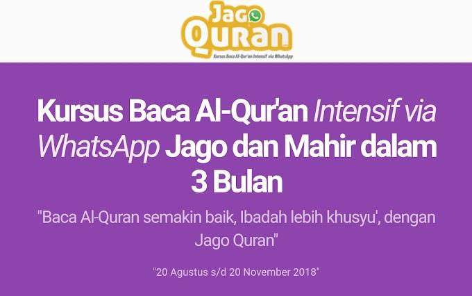 JagoQuran.com Tempat Anda Belajar Baca Al-Qur'an Online Ter-LENGKAP di Indonesia