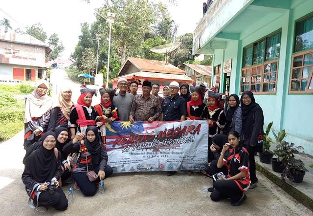 Ponpes Darul Ulum Padang Magek Dikunjungi Mahasiswa UKM