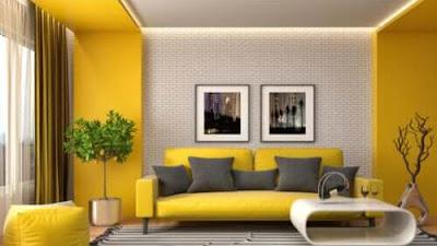 Cara Menghias Ruangan dengan Warna Kuning