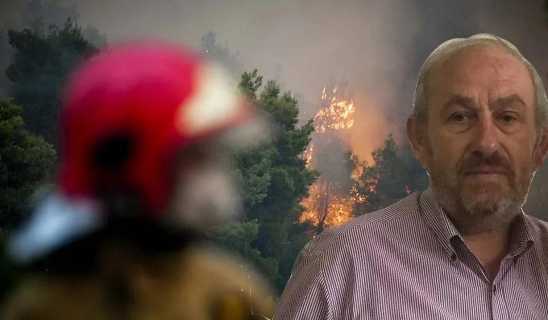 Πρόεδρος της Ένωσης Δασοφυλάκων: Ηλίθιοι και ανίκανοι! Πότε θα σταματήσουν οι άσχετοι να συντονίζουν τη φωτιά;