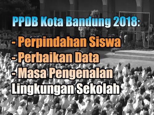 Info PPDB Kota Bandung 2018