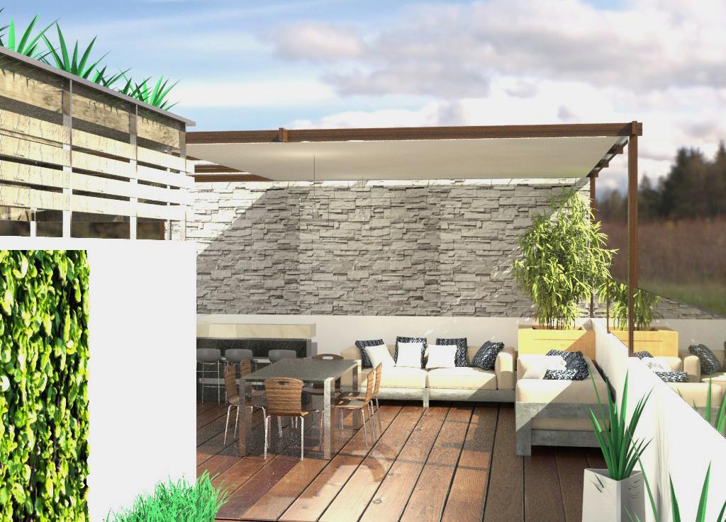 Roof garden ideas y diseo Col lamos Mxico DF