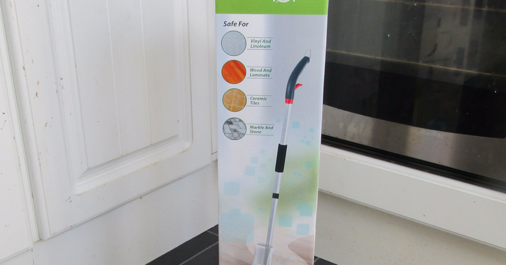 Review Wiz Mop 2 In 1 Spray Mop Kit With Window Cleaner