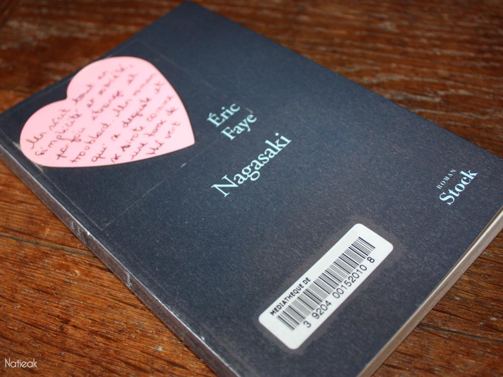 couverture du livre Nagasaki d'Eric Faye