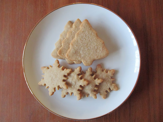 Chai-Spiced Shortbread Cutout Cookies