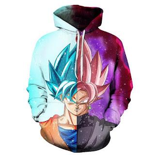 Buzo Goku y Goku Black