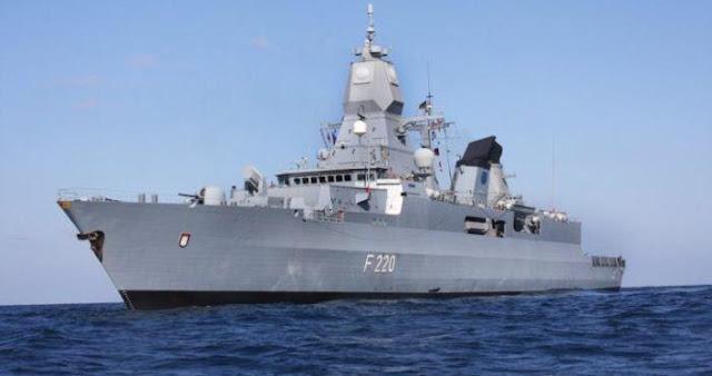 Fregat kelas Sachsen Jerman