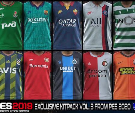 PES 2019 Exclusive Kitpack V3 Season 2019-2020